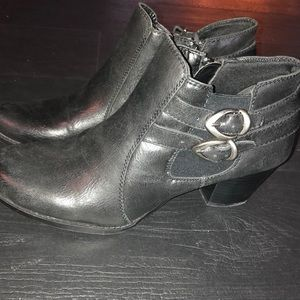 Bare Traps Ankle Boots 11 Black Rilee